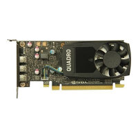 NVIDIA Quadro P400 - Graphics card - Quadro P400 - 2 GB GDDR5 low profile - 3 x Mini DisplayPort - for Precision Tower 3420