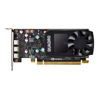 NVIDIA Quadro P400 - Graphics card - Quadro P400 - 2 GB GDDR5 - PCIe 3.0 x16 low profile - 3 x Mini DisplayPort - retail