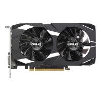 ASUS DUAL-GTX1050-2G-V2 - Graphics card - NVIDIA GeForce GTX 1050 - 2 GB GDDR5 - PCIe 3.0 x16 - DVI, HDMI, DisplayPort