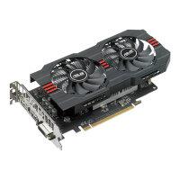 ASUS RX560-O4G - OC Edition - graphics card - Radeon RX 560 - 4 GB GDDR5 - PCIe 3.0 - DVI, HDMI, DisplayPort