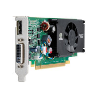 NVIDIA Quadro FX 380 LP - Graphics card - Quadro FX 380 LP - 512 MB GDDR3 - PCIe 2.0 x16 low profile - DVI, DisplayPort - for Workstation z200 (SFF)