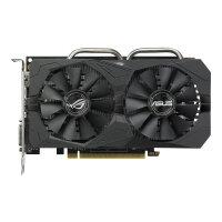 ASUS ROG-STRIX-RX560-4G-GAMING - Graphics card - Radeon RX 560 - 4 GB GDDR5 - PCIe 3.0 x16 - DVI, HDMI, DisplayPort