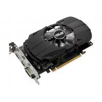 ASUS PH-GTX1050TI-4G - Graphics card - GF GTX 1050 Ti - 4 GB GDDR5 - PCIe 3.0 x16 - DVI, HDMI, DisplayPort