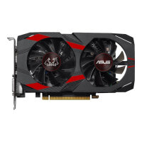ASUS CERBERUS-GTX1050TI-A4G - Advanced Edition - graphics card - GF GTX 1050 Ti - 4 GB GDDR5 - PCIe 3.0 x16 - DVI, HDMI, DisplayPort