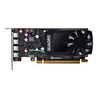 NVIDIA Quadro P620 - Graphics card - Quadro P620 - 2 GB GDDR5 - PCIe 3.0 x16 low profile - 4 x Mini DisplayPort - retail