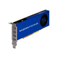 AMD Radeon Pro WX 4100 - Graphics card - Radeon Pro WX 4100 - 4 GB GDDR5 - PCIe 3.0 x16 low profile - 4 x Mini DisplayPort - promo - for Workstation Z240, Z8 G4