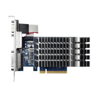 ASUS 710-1-SL - Graphics card - GF GT 710 - 1 GB DDR3 - PCIe 2.0 - DVI, D-Sub, HDMI - fanless