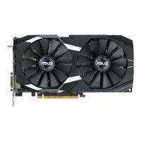 ASUS DUAL-RX580-4G - Graphics card - Radeon RX 580 - 4 GB GDDR5 - PCIe 3.0 x16 - DVI, 2 x HDMI, 2 x DisplayPort