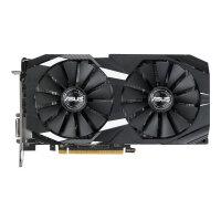 ASUS DUAL-RX580-O4G - OC Edition - graphics card - Radeon RX 580 - 4 GB GDDR5 - PCIe 3.0 x16 - DVI, 2 x HDMI, 2 x DisplayPort