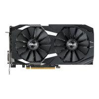 ASUS DUAL-RX580-O8G - Graphics card - Radeon RX 580 - 8 GB GDDR5 - PCIe 3.0 x16 - DVI, 2 x HDMI, 2 x DisplayPort