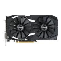 ASUS DUAL-RX580-8G - Graphics card - Radeon RX 580 - 8 GB GDDR5 - PCIe 3.0 x16 - DVI, 2 x HDMI, 2 x DisplayPort