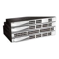 D-Link Web Smart DGS-1210-20 - Switch - Managed - 16 x 10/100/1000 + 4 x Gigabit SFP - desktop, rack-mountable