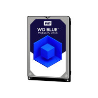 """WD Blue WD5000LPCX - Hard drive - 500 GB - internal - 2.5"""" - SATA 6Gb/s - 5400 rpm - buffer: 16 MB"""