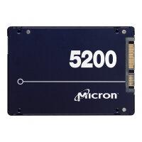 "Micron 5200 series PRO - Solid state drive - 3.84 TB - internal - 2.5"" - SATA 6Gb/s"