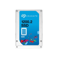 "Seagate 1200.2 SSD ST1600FM0013 - Solid state drive - encrypted - 1600 GB - internal - 2.5"" SFF - SAS 12Gb/s - Self-Encrypting Drive (SED)"