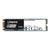Kingston A1000 - Solid state drive - 960 GB - internal - M.2 2280 - PCI Express 3.0 x2 (NVMe)