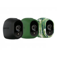 Arlo Replaceable Skins - Camera protective cover - black, green, camouflage (pack of 3)