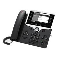 Cisco IP Phone 8811 - VoIP phone - SIP, RTCP, RTP, SRTP, SDP - 5 lines