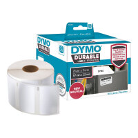 DYMO LabelWriter Address - Polyester - adhesive - white - 32 x 57 mm 800 label(s) (1 roll(s) x 800) labels