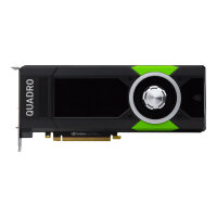 NVIDIA Quadro P5000 - Graphics card - Quadro P5000 - 16 GB GDDR5X - PCIe 3.0 x16 - DVI, 4 x DisplayPort - for Workstation Z440, Z8 G4, Z840