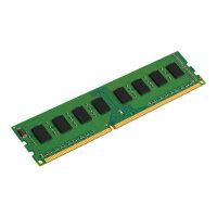 Kingston - DDR3 - 8 GB - DIMM 240-pin - 1600 MHz / PC3-12800 - CL11 - 1.5 V - unbuffered - non-ECC
