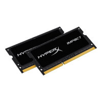 HyperX Impact Black Series - DDR3L - 8 GB: 2 x 4 GB - SO-DIMM 204-pin - 1866 MHz / PC3L-14900 - CL11 - 1.35 / 1.5 V - unbuffered - non-ECC