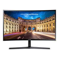"Samsung CF398 Series C27F398FWU - LED Computer Monitor - curved - 27"" - 1920 x 1080 Full HD (1080p) - VA - 250 cd/m² - 3000:1 - 4 ms - HDMI, DisplayPort - shiny black"