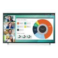 """HP LD5512 Conferencing Display - 55"""" Class (55"""" viewable) LED display - interactive communication - 4K UHD (2160p) 3840 x 2160 - D-LED Backlight - black"""