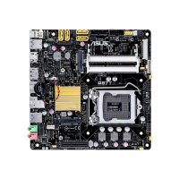 ASUS Q87T - Motherboard - mini ITX - LGA1150 Socket - Q87 - USB 3.0 - Gigabit LAN - onboard graphics (CPU required) - HD Audio (8-channel)