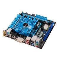 ASUS E2KM1I-DELUXE - Motherboard - mini ITX - AMD E2 2000 - AMD A50M - USB 3.0 - Wi-Fi(n), Bluetooth, Gigabit LAN - onboard graphics - HD Audio (8-channel)