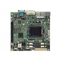 SUPERMICRO X10SLV-Q - Motherboard - mini ITX - LGA1150 Socket - Q87 - USB 3.0 - 2 x Gigabit LAN - onboard graphics (CPU required) - HD Audio (8-channel)