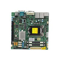 SUPERMICRO X11SSV-Q - Motherboard - mini ITX - LGA1151 Socket - Q170 - USB 3.0 - 2 x Gigabit LAN - onboard graphics (CPU required) - HD Audio