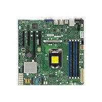 SUPERMICRO X11SSM - Motherboard - micro ATX - LGA1151 Socket - C236 - USB 3.0 - 2 x Gigabit LAN - onboard graphics