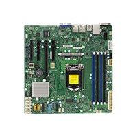 SUPERMICRO X11SSM-F - Motherboard - micro ATX - LGA1151 Socket - C236 - USB 3.0 - 2 x Gigabit LAN - onboard graphics