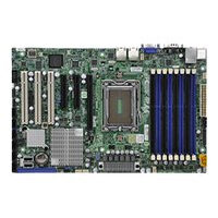 SUPERMICRO H8SGL-F - Motherboard - ATX - Socket G34 - AMD SR5650/SP5100 - 2 x Gigabit LAN - onboard graphics