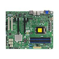 SUPERMICRO X11SAE-F - Motherboard - ATX - LGA1151 Socket - C236 - USB 3.0, USB 3.1 - 2 x Gigabit LAN - onboard graphics - HD Audio (8-channel)