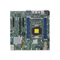 SUPERMICRO X11SRM-F - Motherboard - micro ATX - LGA2066 Socket - C422 - USB 3.0 - 2 x Gigabit LAN - onboard graphics