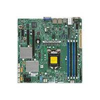 SUPERMICRO X11SSL-CF - Motherboard - micro ATX - LGA1151 Socket - C232 - USB 3.0 - 2 x Gigabit LAN - onboard graphics