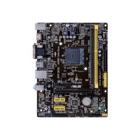 ASUS AM1M-A - Motherboard - micro ATX - Socket AM1 - USB 3.0 - Gigabit LAN - onboard graphics (CPU required) - HD Audio (8-channel)