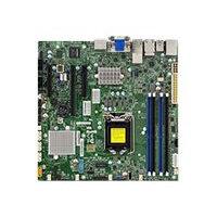 SUPERMICRO X11SSZ-TLN4F - Motherboard - micro ATX - LGA1151 Socket - C236 - USB 3.0 - 2 x 10 Gigabit LAN, 2 x Gigabit LAN - onboard graphics - HD Audio