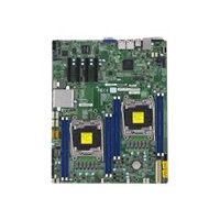 SUPERMICRO X10DRD-i - Motherboard - extended ATX - LGA2011-v3 Socket - 2 CPUs supported - C612 - 2 x Gigabit LAN - onboard graphics