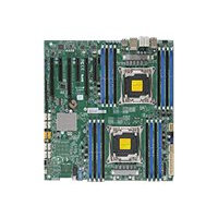 SUPERMICRO X10DAi - Motherboard - extended ATX - LGA2011-v3 Socket - 2 CPUs supported - C612 - USB 3.0 - 2 x Gigabit LAN - HD Audio (8-channel) - for SC213; SC732; SC743; SC745; SC747; SC826; SC835; SC836; SC846