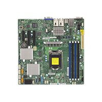 SUPERMICRO X11SSH-CTF - Motherboard - micro ATX - LGA1151 Socket - C236 - USB 3.0 - 2 x 10 Gigabit LAN - onboard graphics