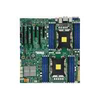 SUPERMICRO X11DAi-N - Motherboard - extended ATX - Socket P - 2 CPUs supported - C621 - USB 3.0, USB 3.1, USB-C - 2 x Gigabit LAN - onboard graphics - HD Audio (8-channel)