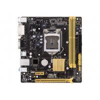 ASUS H81M-R - Motherboard - micro ATX - LGA1150 Socket - H81 - USB 3.0 - Gigabit LAN - onboard graphics (CPU required) - HD Audio (8-channel)