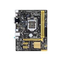 ASUS H81M-P PLUS - Motherboard - micro ATX - LGA1150 Socket - H81 - USB 3.0 - Gigabit LAN - onboard graphics (CPU required) - HD Audio (8-channel)