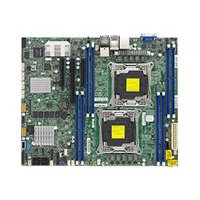 SUPERMICRO X10DRL-CT - Motherboard - ATX - LGA2011-v3 Socket - 2 CPUs supported - C612 - USB 3.0 - 2 x 10 Gigabit LAN, 2 x Gigabit LAN - onboard graphics