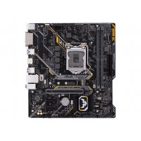 ASUS TUF H310M-PLUS GAMING - Motherboard - micro ATX - LGA1151 Socket - H310 - USB 3.1 Gen 1 - Gigabit LAN - onboard graphics (CPU required) - HD Audio (8-channel)