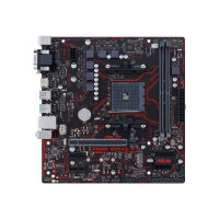 ASUS PRIME B350M-E - Motherboard - micro ATX - Socket AM4 - AMD B350 - USB 3.0, USB 3.1 - Gigabit LAN - onboard graphics (CPU required) - HD Audio (8-channel)