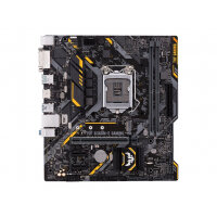 ASUS TUF B360M-E GAMING - Motherboard - micro ATX - LGA1151 Socket - B360 - USB 3.1 Gen 1, USB 3.1 Gen 2 - Gigabit LAN - onboard graphics (CPU required) - HD Audio (8-channel)